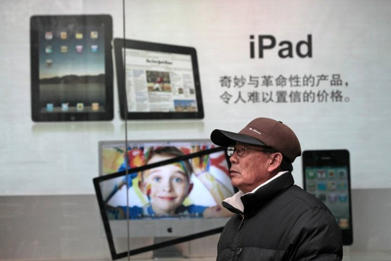 apple, ipad, china, macbook, government, security, ban