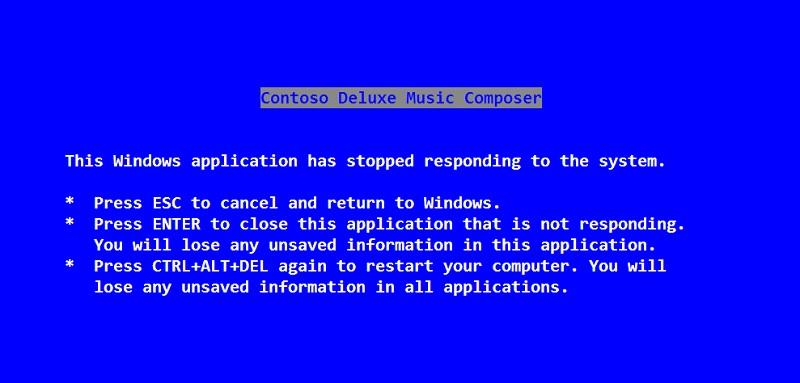 microsoft, windows, bsod, steve ballmer, blue screen of death