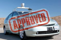 Nevada embraces driverless cars, issues autonomous vehicle licenses