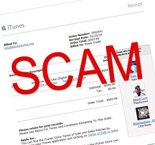 apple, itunes, app store, scams, malware, black friday