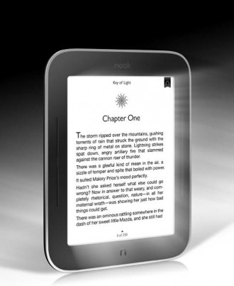 kindle, e-book, e ink, e-reader, led, nook simple touch, glowlight, barnes and noble