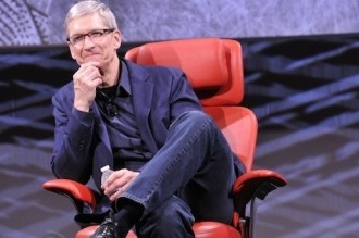 apple, interview, tim cook, apple tv, all things d, walt mossberg, kara swisher