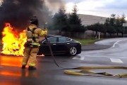 Tesla chief Elon Musk updates Model S warranty to cover fire damage