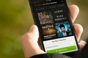 Spotify now streaming free on-demand music on tablets, shuffle playlists on smartphones