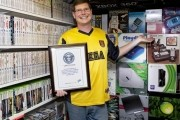 Avid collector receives Guinness World Record for largest video game collection