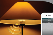 AirBulb is a wireless LED light bulb with a built-in Bluetooth speaker