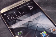 The yet-to-be-announced HTC One (M8) appears in a 12-minute video