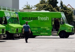 "Amazon testing its own delivery truck fleet for ""last mile"" drop-offs"