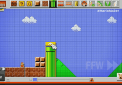 Create your own Super Mario Bros. levels with 'Mario Maker'