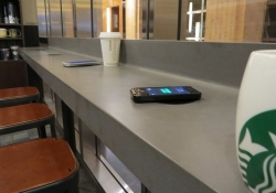 Starbucks announces nationwide rollout of Powermat wireless charging stations