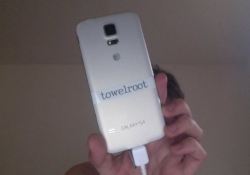 Geohot's Towelroot can root most Android devices including the Galaxy S5