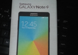 Images of a Samsung Galaxy Note 4 and its box leak