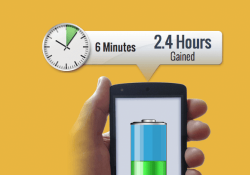 New software dramatically reduces existing smartphone charge times