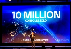 Sony has sold 10 million PlayStation 4 consoles worldwide