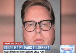 Google gets a man arrested after detecting child porn in his email