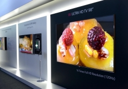 LG says 4K televisions are old news, shows off 98-inch 8K set at IFA