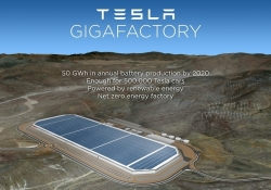 Tesla's battery-making 'Gigafactory' finds a home in Nevada