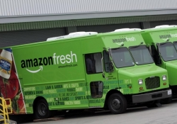 Amazon is working with the US Postal Service to deliver groceries