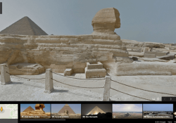 Google Street View takes you on a tour of ancient Egypt