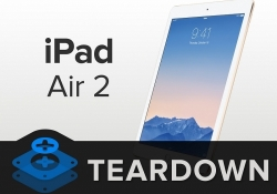 iPad Air 2 teardown reveals smaller battery, tweaks to internal layout