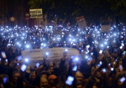 Hungarian government ditches proposed internet tax after public protests