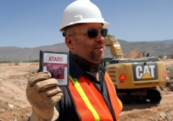 E.T. and other Atari games excavated from New Mexico landfill hit eBay