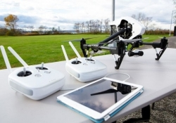 DJI's new Inspire 1 drone includes 4K camera with three-axis image stabilization