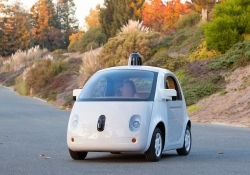 Google's autonomous car to arrive with external airbags for pedestrians, patent suggests