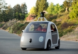 Google sparks up production on its self-driving cars in Detroit