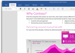 Touch-based Office preview now available for Windows 10