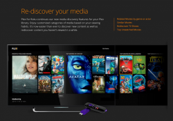 Plex announces its next-generation Roku channel app