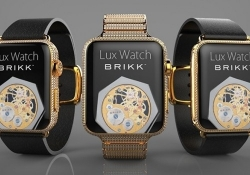 Bling-bling: This 24K gold, diamond-encrusted Apple Watch can be yours for under $75,000