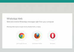 WhatsApp adds two new browsers to its web client messaging