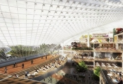 This is Google's futuristic new campus, complete with reconfigurable spaces and dome-like roof