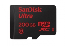 SanDisk's latest microSD cards are a whopping 200 GB
