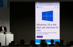 Microsoft at MWC: next Windows 10 preview to include Project Spartan, universal apps highlighted