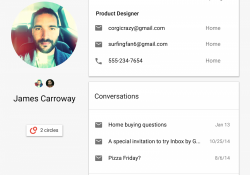 Google completely revamps its aging web contacts manager