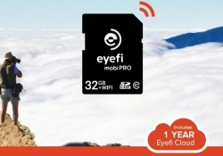 Eyefi Mobi Pro Wi-Fi SD card adds support for RAW wireless transfer