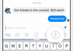 Facebook adds peer-to-peer mobile payments to Messenger app