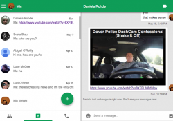 Google refreshes the Hangouts Chrome app for OS X, Windows and more