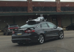 Uber spotted testing 'advanced' vehicle on the streets of Pittsburgh