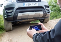 Land Rover's remote app turns your vehicle into a real-life RC car