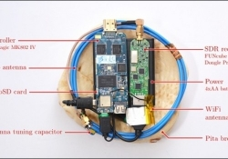 This homemade spy gadget can steal stray radio waves emitted by a laptop's processor