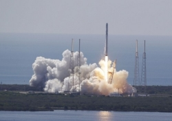 SpaceX rocket on ISS resupply mission explodes over the Atlantic