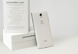 Commodore returns to the market with a rebadged Android smartphone