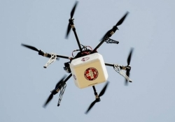 First FAA aproved drone delivers medicine in Virginia