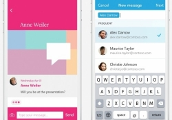 Send is Microsoft's new hybrid e-mail / chat app for quick, informal conversations