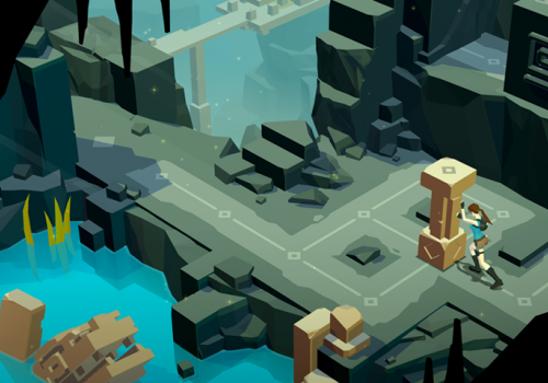 'Lara Croft Go' is a turn-based Tomb Raider puzzle game for mobile devices