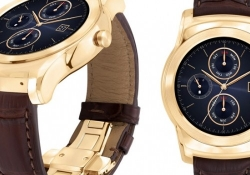 LG's new 23-karat gold Android Wear smartwatch costs $1,200