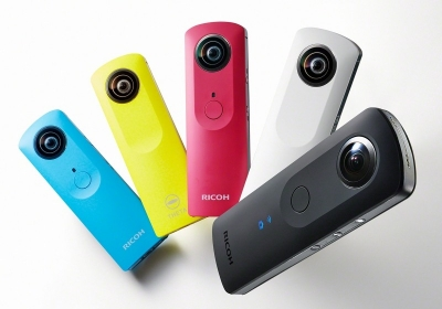Ricoh updates 360-degree camera at IFA